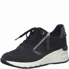 Damen Sneakers im Materialmix
