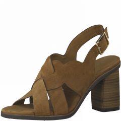 Damen Sandaletten mit überkreuzten Riemen