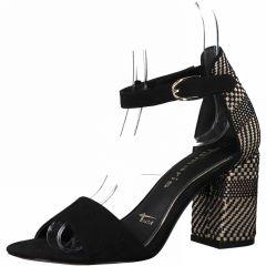 Damen Sandaletten aus Textil