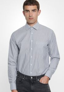 Business Herrenhemd Modern Langarm