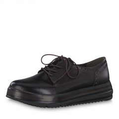 Damen Schnürschuhe klassisch schwarz