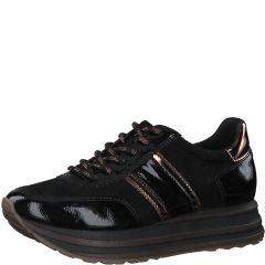 Damen Sneakers in Lack-Optik