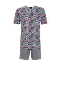 kurzer Herren-Pyjama