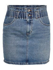 Jeans Rock im Paperbag-Style