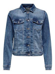 Damen Jeansjacke im Washed-Look