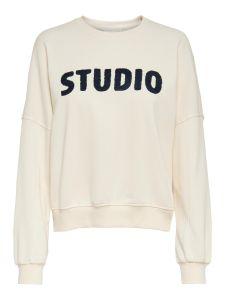 Damen Sweatshirt mit Rundhalsausschnitt