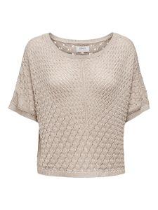 Damen Pullover mit Strickmuster
