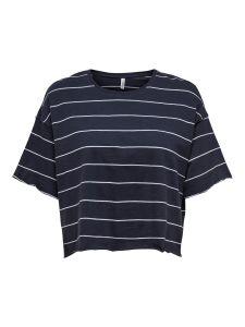 Damen T-Shirt Boxy Fit