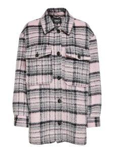 Damen Hemdjacke in Oversize-Passform
