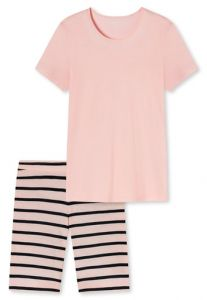 Damenschlafanzug KURZ in Zartrosa