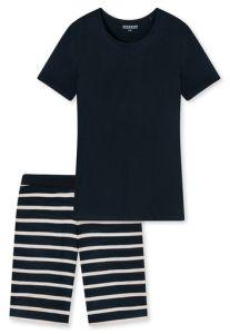 Damenschlafanzug KURZ in Schwarz