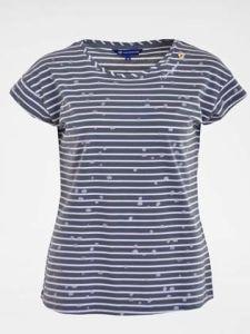 Gestreiftes Damen T-Shirt