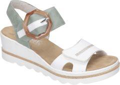 Damen Sandaletten mit Keilabsatz