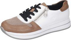 Damen Sneakers mit seitlichem Reißverschluss