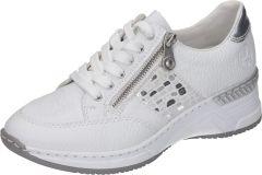 Damen Schnürschuhe mit seitlichem Reißverschluss