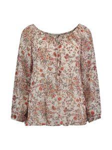 Bluse Cara mit Blumenprint