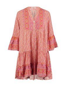 Kleid in Tunika-Optik