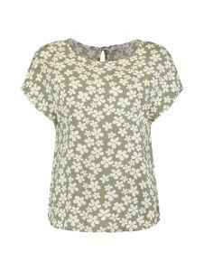 Damen T-Shirt mit Rundhalsausschnitt
