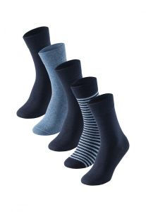 Herrensocken im 5er Pack